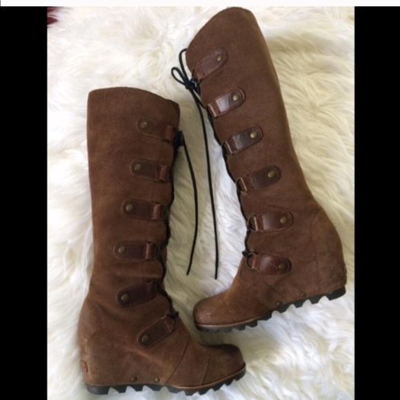 feb461077fa Sorel Shoes - SOREL❤️JOAN OF ARCTIC CATE THE GREAT TALL WEDGE